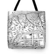 Charleston: Plan, 1704 Tote Bag