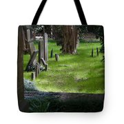 Charleston Sc Graveyard Tote Bag