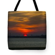 Charleston Sc Sunset Tote Bag