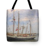 Charleston Ships Tote Bag
