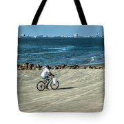 Charleston Surf Fishing Tote Bag