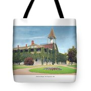 Charlevoix Michigan - The Chicago Club - 1908 Tote Bag