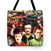 Charlie And Friends Tries To Blend In With The Crowd 5d23867 Tote Bag