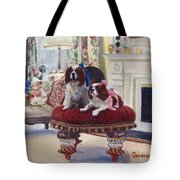 Charlie And Lizzie Tote Bag
