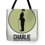 Charlie Poster 1 Tote Bag by Naxart Studio