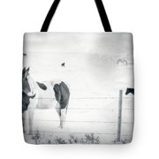 Charlie The Friendly Mare Tote Bag