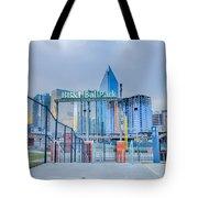 Charlotte Ballpark Tote Bag