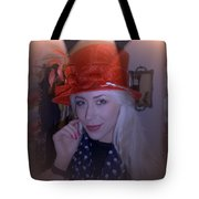 Charlotte Choosing A Hat Tote Bag