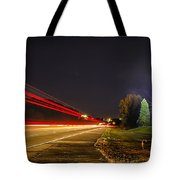 Charlotte City Airport Entrance Sculpture Tote Bag
