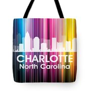 Charlotte Nc 2 Tote Bag by Angelina Vick