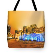 Charlotte Nc Usa - Charlotte Skyline Near R Tote Bag