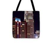 Charlotte Skyscraper Tote Bag