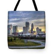 Charlotte Sunrise Tote Bag
