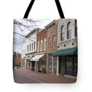 Charlottesville Virginia Downtown Mall Tote Bag