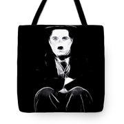 Charly The Tramp Tote Bag