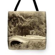 Charm Of Bow Bridge Tote Bag