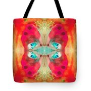 Charmed - Abstract Art By Sharon Cummings Tote Bag