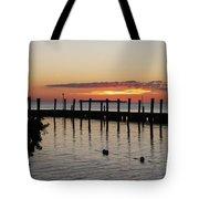 Charming Eveninglight Over Key Largo Tote Bag