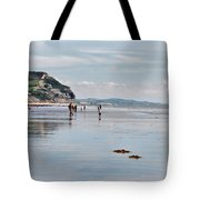 Charmouth Beach 2 Tote Bag
