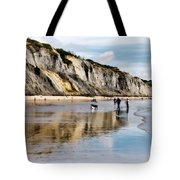Charmouth Beach Tote Bag