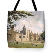 Charter House From The Play Ground Tote Bag
