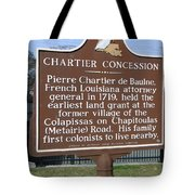 Chartier Concession Tote Bag
