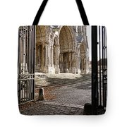 Chartres Cathedral North Transept Tote Bag