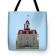 Chase County Courthouse In Kansas Tote Bag