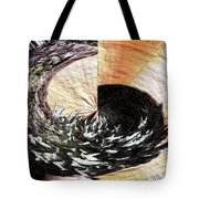 Chasing The Dragon's Tail Tote Bag