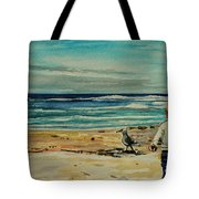 Chasing The Seagull Tote Bag