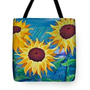 Chasing The Sun Tote Bag