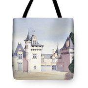Chateau A Fontaine Tote Bag