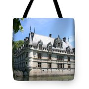 Chateau Azay-le-rideau From The Gardens  Tote Bag