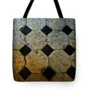 Chateau Brissac's Tile Floor Tote Bag