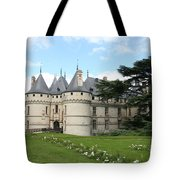 Chateau Chaumont From The Garden  Tote Bag