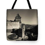 Chateau De Castelnaud With Hot Air Tote Bag