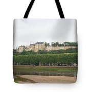 Chateau De Chinon - France Tote Bag
