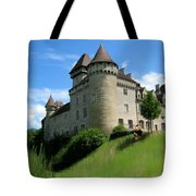 Chateau De Cleron Dans Le Doubs France Tote Bag