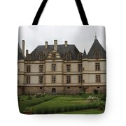 Chateau De Cormatin  And Garden - Burgundy Tote Bag