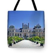 Chateau De Fontainebleau Ile De France Tote Bag