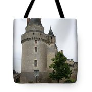 Chateau De Langeais Tower Tote Bag