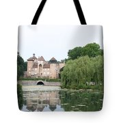 Chateau De Sercy - Burgundy Tote Bag