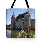 Chateau De Sully-sur-loire And Moat Tote Bag