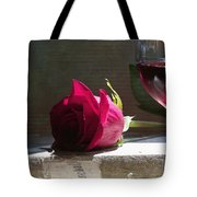Chateau Rose Tote Bag