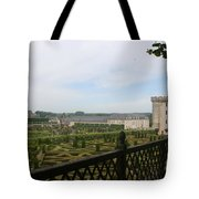 Chateau Vilandry And Garden View Tote Bag
