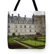 Chateau Villandry - Usefulness And Ornament  Tote Bag