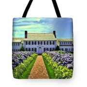 Chatham House Tote Bag by Allen Beatty