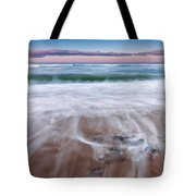Chatham Sunset Square Tote Bag by Bill Wakeley