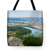 Chattanooga Spring Skyline Tote Bag