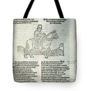 Chaucer: Prologue Tote Bag